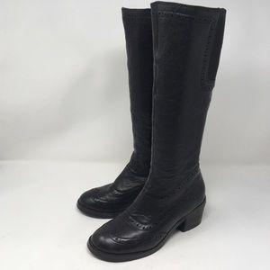 MIZ MOOZ | Monica knee high boots black
